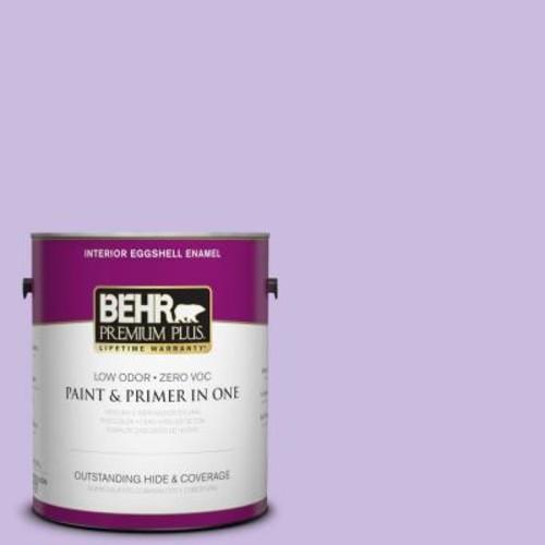 BEHR Premium Plus 1-gal. #P570-2 Confetti Eggshell Enamel Interior Paint