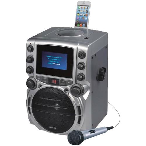 Karaoke Usa Cd+g Bluetooth Karaoke System With 4.3