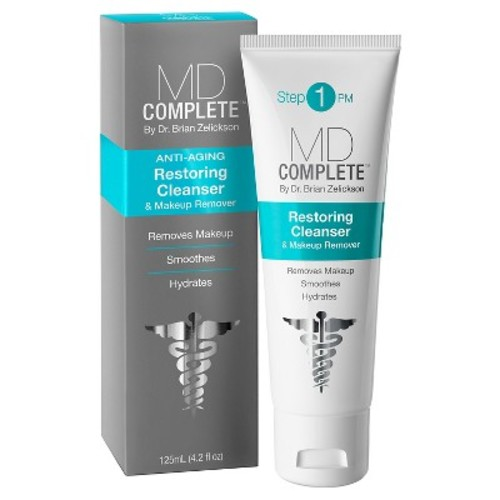 MD Complete Anti-Aging Restoring Cleanser & Makeup Remover -4.2 oz