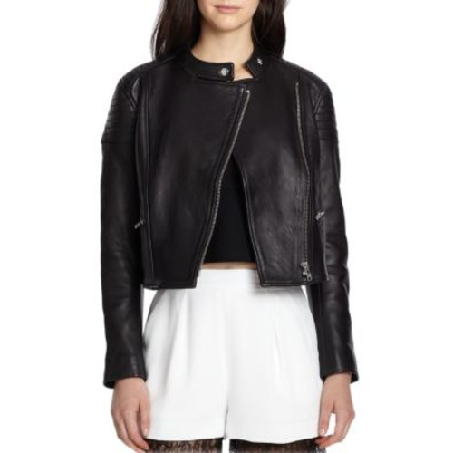 NICHOLAS - Leather Biker Jacket