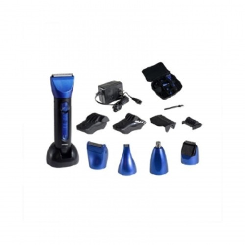 Optimus 50150 15 Piece Wet/Dry Multi-Use Clipper and Trimmer, Blue/Black