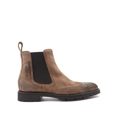Lancaster suede chelsea boots