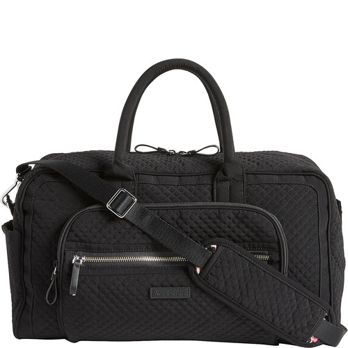 Vera Bradley Iconic Compact Weekender Travel Bag - Solids