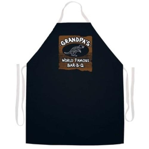 'Grandpa To Some Bar-B-Q Master To Others' BBQ Grill Apron-Black