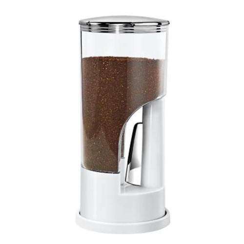 Honey Can Do KCH-06076 Indispensable Coffee Dispenser- Wht/Ch