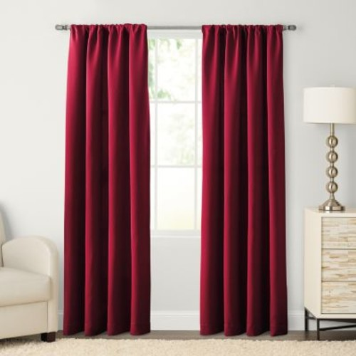 SONOMA Goods for Life Carson Twill Pole Top Window Curtain