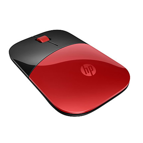 HP Z3700 Wireless Mouse, Cardinal Red/Black