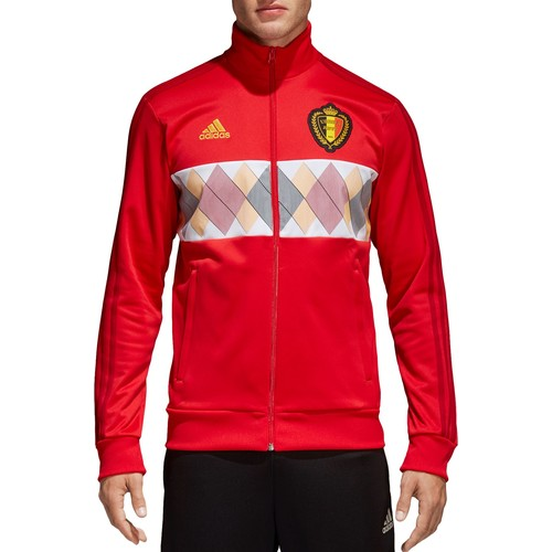 adidas Men's 2018 FIFA World Cup Belgium Red Track Jacket