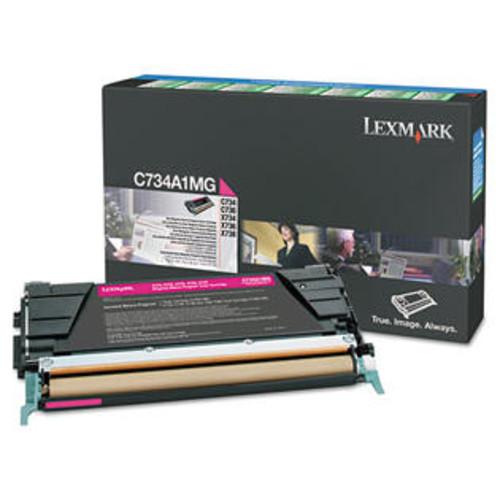 Lexmark X746, X748 Magenta Return Program Toner Cartridge