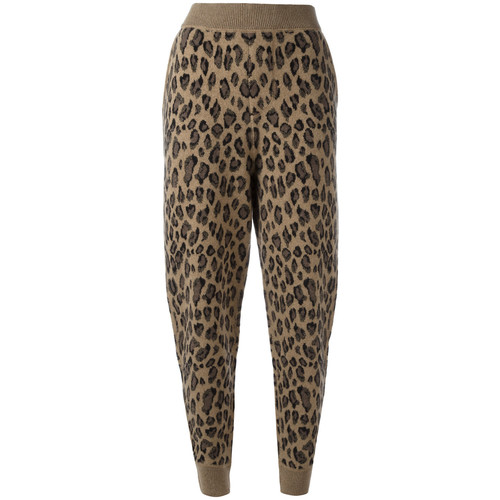 ALEXANDER WANG Leopard Print Track Pants