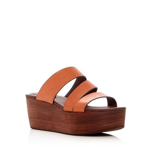 SEE BY CHLOÉ Strappy Platform Slide Sandals