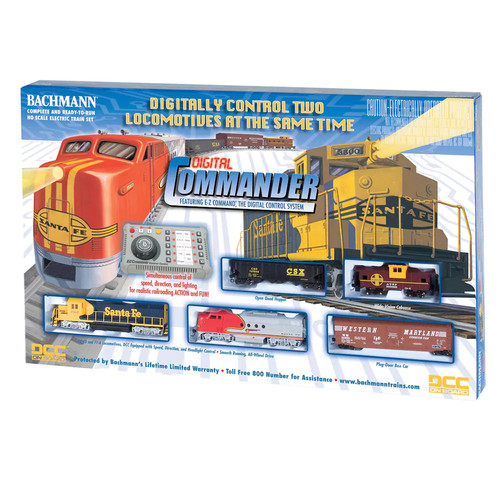 Bachmann Digital Commander HO Scale Electric Train Set