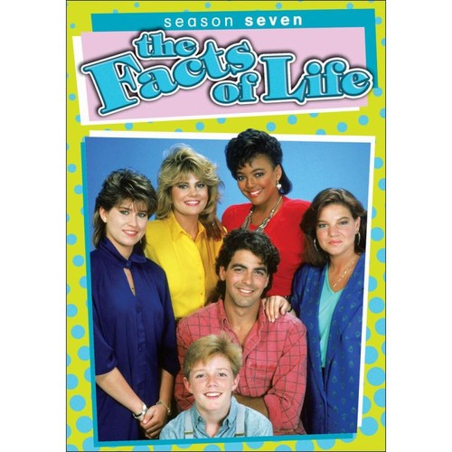 The Facts of Life: Season 7 [3 Discs] [DVD]