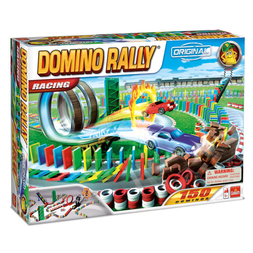 Domino Rally Racing  Dominoes for Kids  STEM-based Learning Set