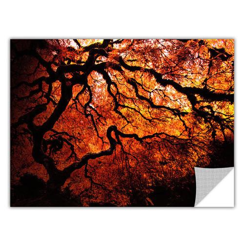 John Black 'Fire Breather: Japanese Tree' Removable Wall Art
