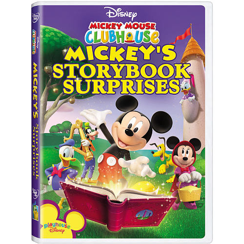 Disney Mickey Mouse Clubhouse: Mickey's Storybook Surprises DVD