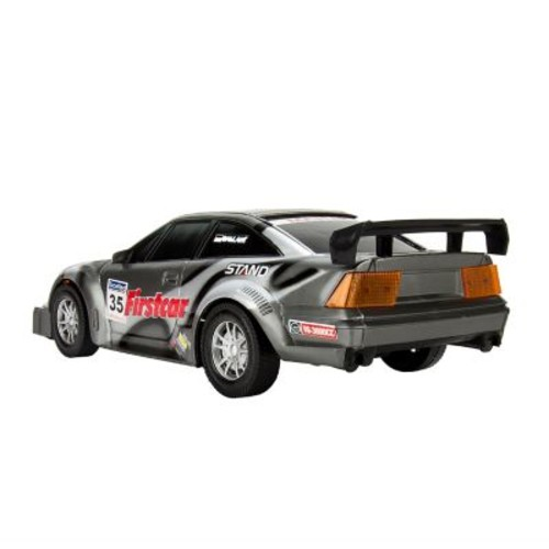 Blue Block Factory Colossal Extreme Friction Power Race Car Grey
