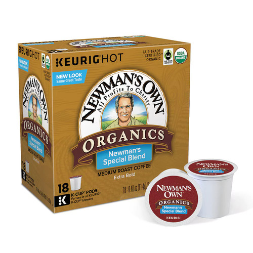 Keurig - Newman's Own Organics K-Cup Pods (108-Pack)