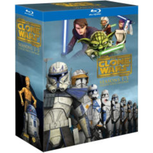 Star Wars: The Clone Wars - Seasons 1-5 Collectors Edition