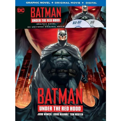 Batman: Under the Red Hood [Includes Graphic Novel] [Blu-ray] [2010]
