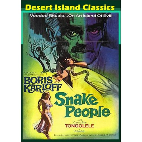 The Snake People [DVD] [1971]
