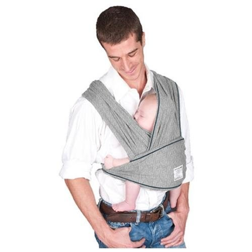 Cotton Baby Carrier - Size: Small, Color: Heather Grey