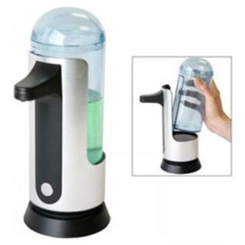 iTouchless 16oz Automatic Sensor Soap Dispenser with Removable 3D Container