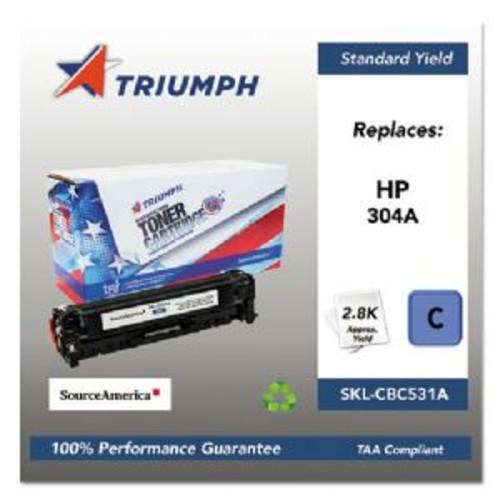 TRI Industries REMAN HP CC531A CYAN (SKL-CC531A)
