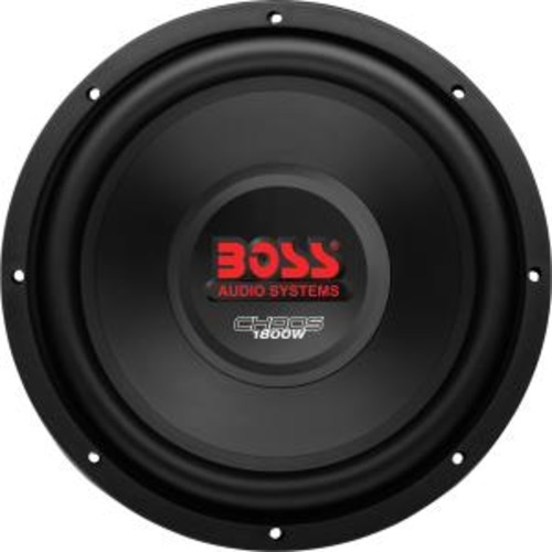 BOSS AUDIO CH12DVC CHAOS SERIES DUAL VOICE-COIL SUBWOOFER (12