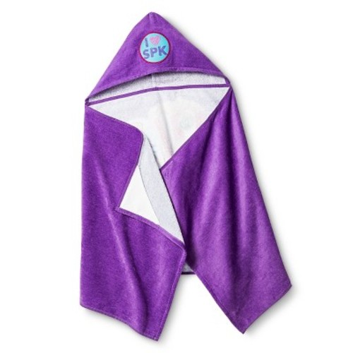 Bath Towels And Washcloths - Purple - Shopkins