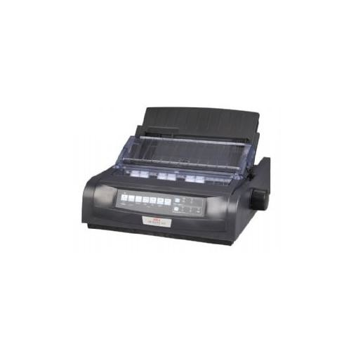 OKI Data Microline 420N Black Dot Matrix Printer, 570 cps, 240x216dpi, Parallel/USB/Ethernet, 120V