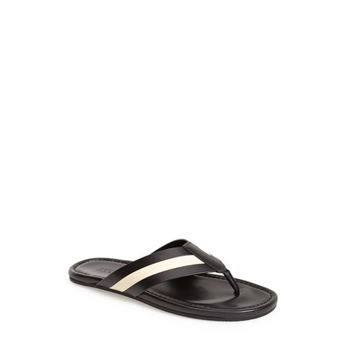 'Venzio' Leather Flip Flop (Men)