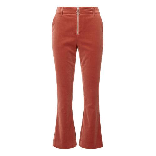 FRAME Spice Ring Pull Velvet Pants