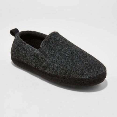 Men's Dayton Fleece Twin Gore Slippers - Goodfellow & Co Gray