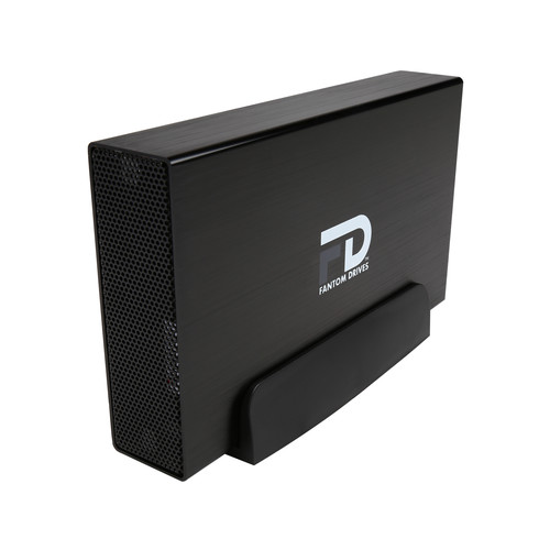Fantom Drives G-Force 8TB USB 3.0 / eSATA Aluminum Desktop External Hard Drive GF3B8000EU Black