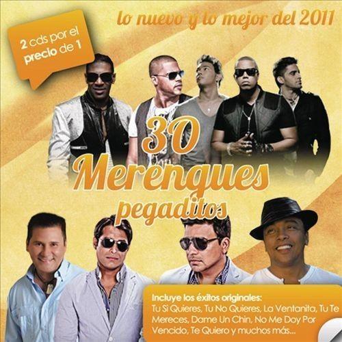 30 Merengues Pegaditos: Lo Nuevo Y Lo Mejor 2011 [CD]