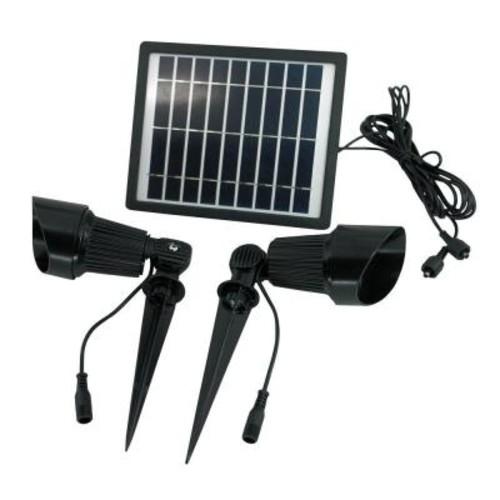 Solar Goes Green Solar Warm White LED Spot Light