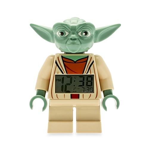 LEGO Star Wars Yoda Minifigure Alarm Clock