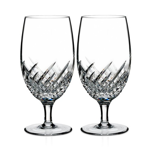Essentially Wave Iced Beverage Glass, Set of 2
