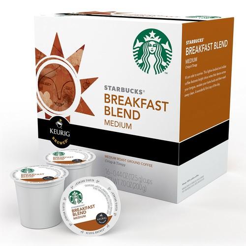 Keurig - Starbucks Breakfast Blend Coffee K-Cups (96-Pack) -