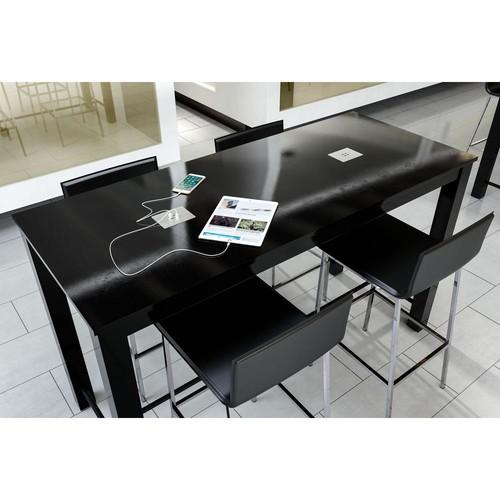 ZUO Odin Black Bar Table