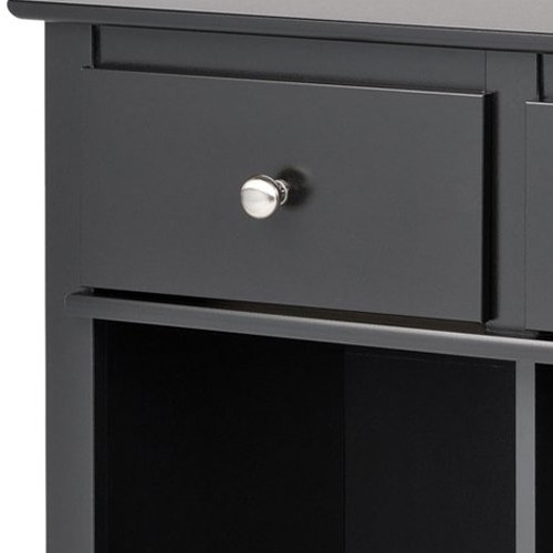 Black Living Room Console [Black]