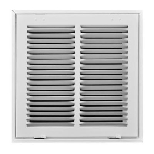 TruAire 12 in. x 12 in. White Return Air Filter Grille