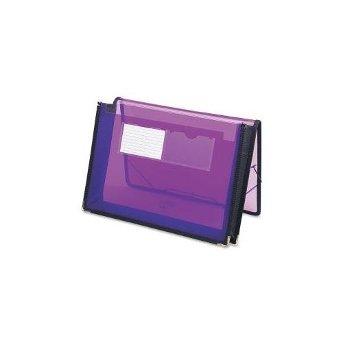 SMEAD MANUFACTURING CO Expanding Wallets, 2-1/4 Exp,13-1/4x9-7/8, Purple
