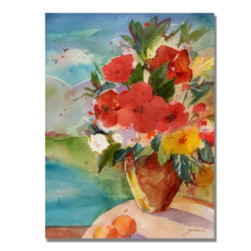 Trademark Fine Art 'Scenic Bouquet' 24