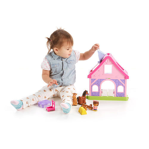 Fisher-Price Little People Pony Stable