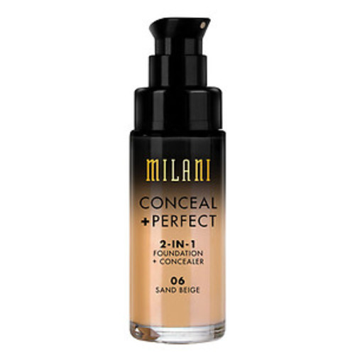 Milani Conceal + Perfect 2-in-1 Foundation + Concealer, Sand Beige