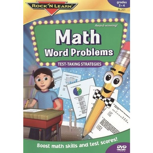 Math Word Problems DVD by Rock 'N Learn [1]