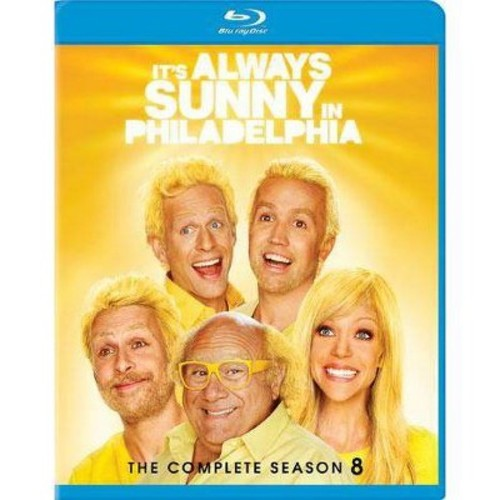 It's Always Sunny in Philadelphia: The Complete Season 8 [2 Discs] [Blu-ray]
