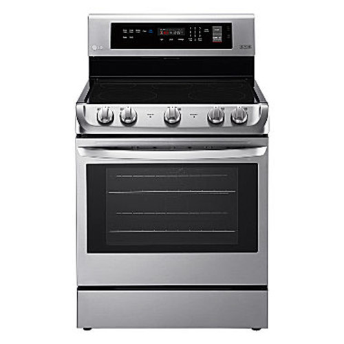 LG 63 cu ft Capacity Electric Single Oven Range with ProBake Convection and EasyClean JCPenney
